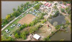 An Aerial View of a Trail Ride in 2007